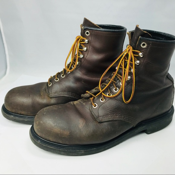 Red Wing Shoes 2233 15 Brown Steel Toe